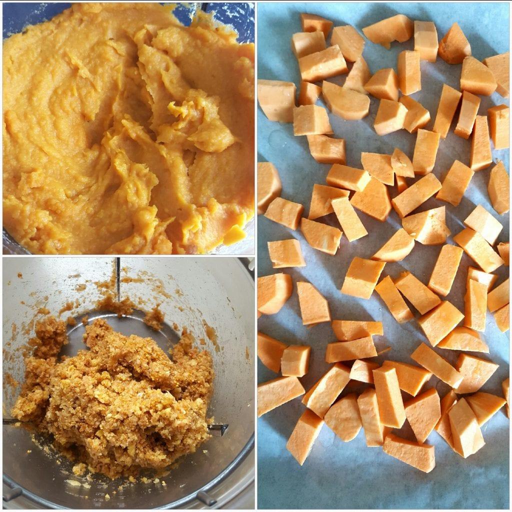 Zdravi kolač od batata, badema i