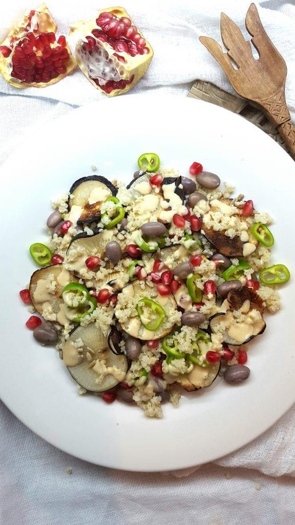 Jesenska salata sa crnom rotkvom