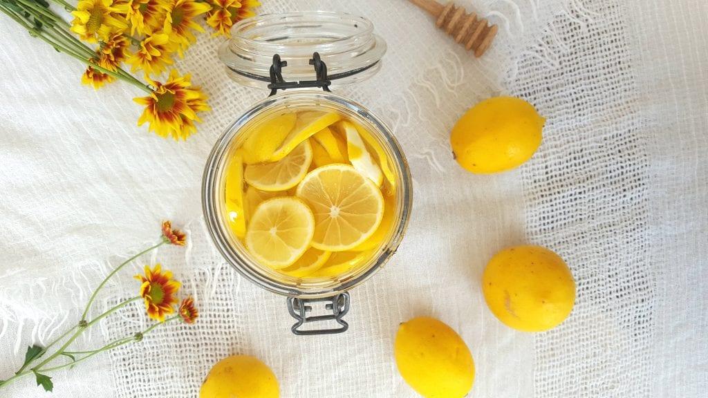 Sirup od limuna i meda