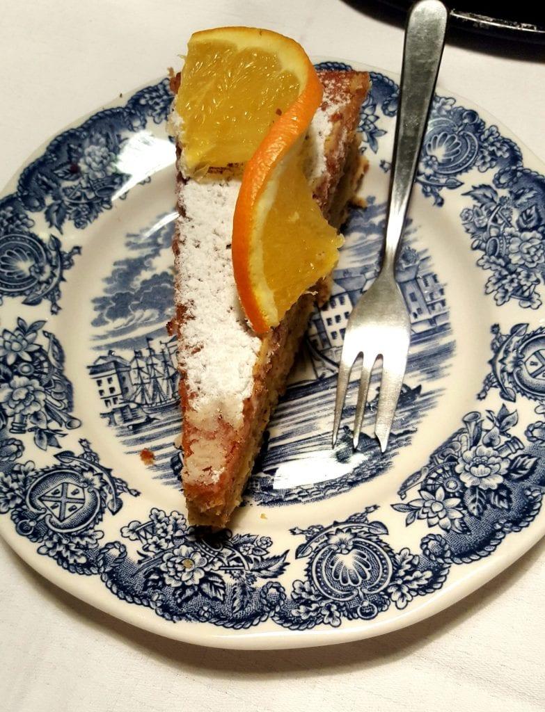 Torta od naranče i badema