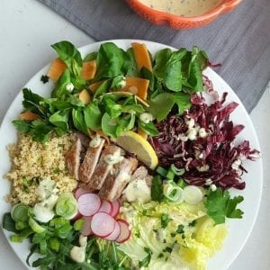 Proteinska salata bez mesa | Mama, ja sam gladan