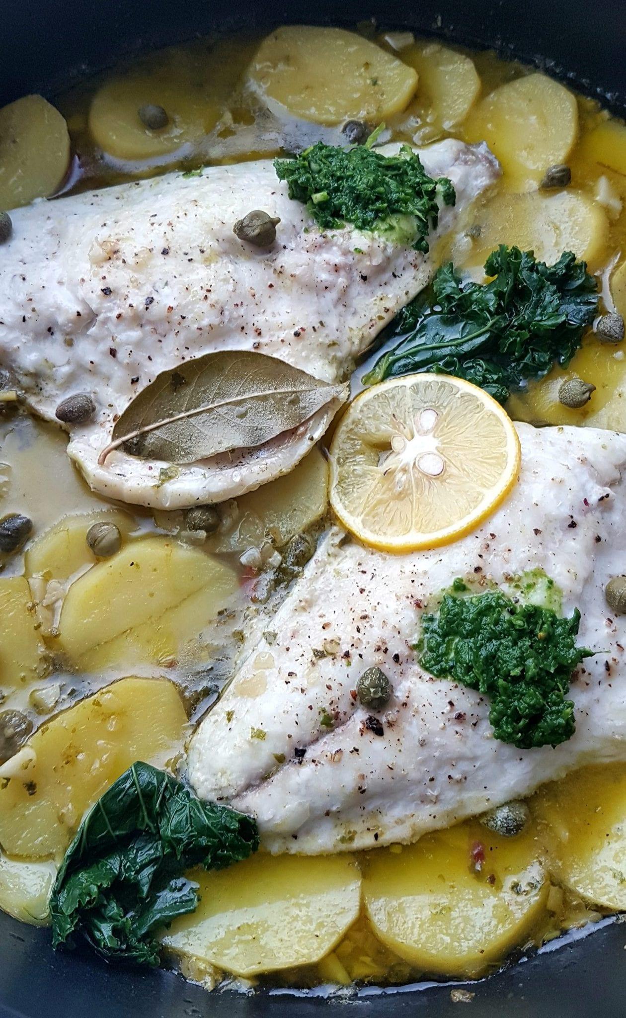 Fina, osvježavajuća marinada od limuna i maslinovog ulja učinit će.